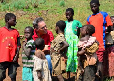 Steve visiting Uganda