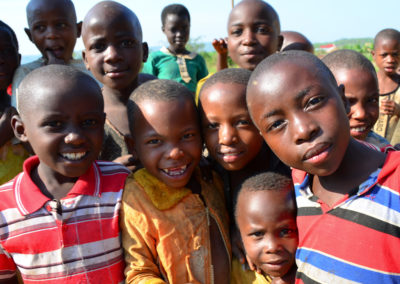 Ugandan World Vision children