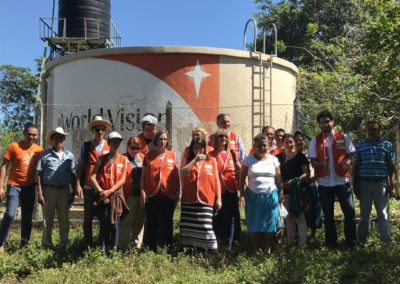 2016 World Vision El Salvadorian team